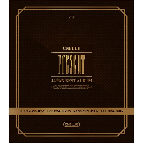 [중고CD] 씨엔블루 (Cnblue) / Present Japan Best Album (포카없음/Box Case)